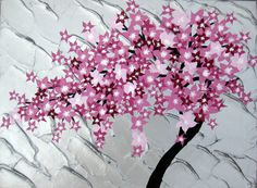 cherry blossom painting cherry blossom art paintings by SheerJoy