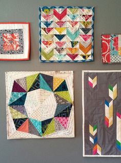 beckandlundy. Love the circle-from-triangles block