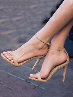 Sexy Drawstring Heeled Stiletto Sandals
