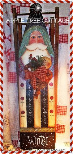 Reserved with pleasure for Lyana121 - viNtAgE cHiLd'S  iRoNiNg BoArD - WeLcOmE FaTheR ChRiStMaS