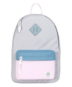 Another great find on #zulily! Pink & Gray Bayside Hopscotch Backpack #zulilyfinds
