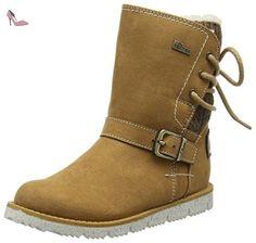 QIN&X Les talons talon bloc court à tête ronde Chaussures Bottines Jaune,37,