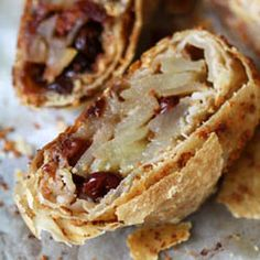 Apple Cherry Strudel (how to get paper thin pastry) / Zoe Bakes