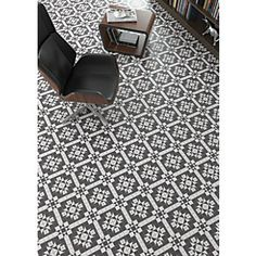 Wickes Harrow Grey Ceramic Floor Tile 316x316mm