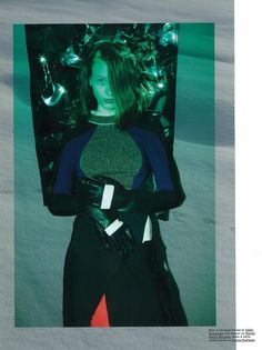 Pop Magazine warrior sassen now fall/winter 2012 Photographer: Viviane Sassen Stylist: Vanessa Reid Model: Madison Headrick