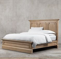 Montpellier Bedroom Collection Antiqued Natural Walnut | RH