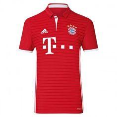 #Bayern München 16-17 Hjemmebanetrøje Kort ærmer,208,58KR,shirtshopservice@gmail.com