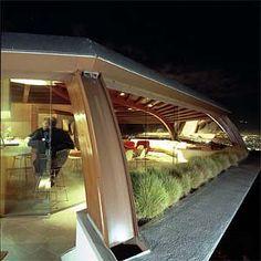 "Malin (""Chemosphere"") Residence, Los Angeles CA. John Lautner, architect."