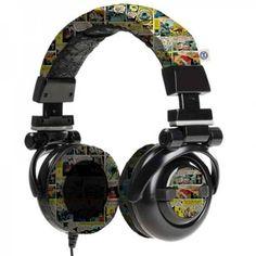 Fone de Ouvido Headphone Quadrinhos DC Comics -