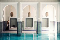 North African Oasis, Morroco