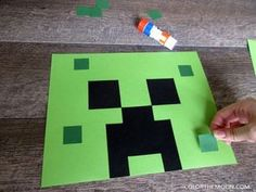 These DIY Minecraft party decoration windsocks are SO COOL and so easy to make! What a great idea for a Minecraft birthday party. Memes Minecraft, Craft Minecraft, Minecraft Party Decorations, Birthday Party Decorations, Minecraft Skins, Minecraft Party Ideas, Minecraft Birthday Party, 7th Birthday, It's Your Birthday