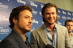 The Avengers opens next weekend and I can't wait!!  Iron Man and Thor in the same movie.  Happiness!!