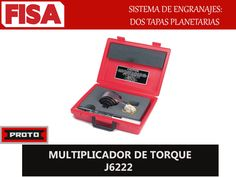 MULTIPICADOR DE TORQUE J6222. Sistema de engranajes dos etapas planetarias- FERRETERIA INDUSTRIAL -FISA S.A.S Carrera 25 # 17 - 64 Teléfono: 201 05 55 www.fisa.com.co/ Twitter:@FISA_Colombia Facebook: Ferreteria Industrial FISA Colombia