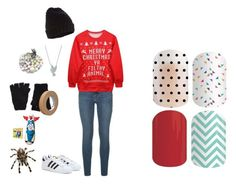 """Guess the Christmas Movie - Jamberry Nails"" by kspantonjamon on Polyvore"