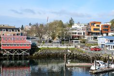 Another view of fictitious Windon Harbor - actually Friday Harbor, in the San Juan Islands, Washington State