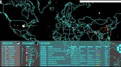 Live Cyber Attack Map NYSE Data Centers St Louis