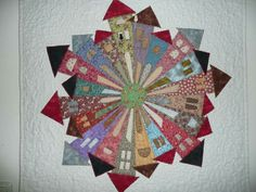 Dresden Plate Quilts, Quilt Patterns, Quilting Ideas, House Quilts, Quilt Festival, Quilt Blocks, Sewing Crafts, Embellishments, The Neighbourhood