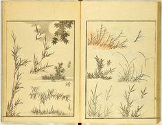 Image gallery: (Denshin kaishu) Hokusai manga, vol. 1 (伝神開手)北斎漫画, 初編 ((Transmitted from the Gods) Random Drawings by Hokusai, vol. Japanese Art Prints, Japanese Patterns, Japanese Painting, Chinese Painting, Japanese Bird, Japanese Crane, Art Occidental, Japanese Illustration, Woodblock Print