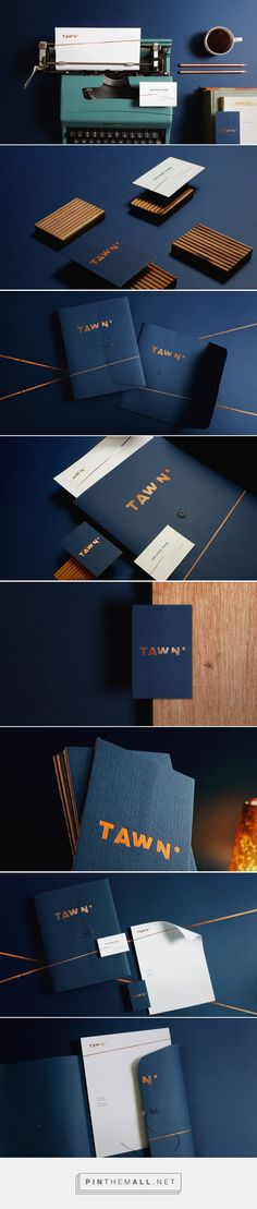 TAWN brand identity and design by Cherry Bomb Creative Co.