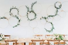 33 Cool Ways To Use Hoops At Your Wedding