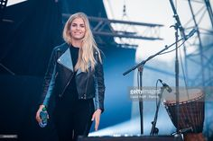 Hannah Reid from London Grammar performs at We Love Green Festival at... News Photo | Getty Images
