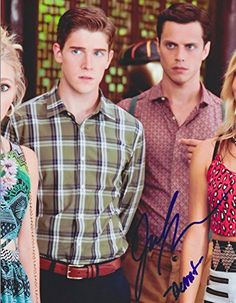 Jake Robinson Autographed Signed 8X10 Photo COA 'The Carrie Diaries Bennet'