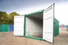 20ft new shipping containers available to purchase.  NATIONWIDE DELIVERY. 20ft Shipping Container, Shipping Containers, Garage Doors, Shed, Delivery, Outdoor Structures, Outdoor Decor, Ideas, Home Decor
