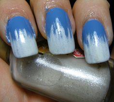Beautiful #icesicle #nail #manicure