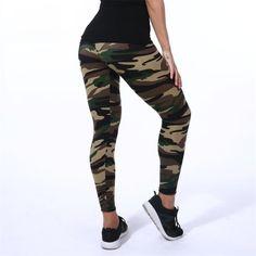 286840eecd97ae Buy High Elastic Skinny Camouflage Legging on KeiraFashions.com : Free  Shipping WorldWide. Keira Fashions · Leggings