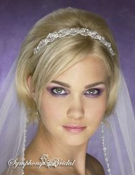 Gorgeous Swarovski crystal scalloped edge - SALE!!