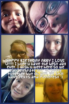 Sorry about the weird pictures of u. I did tell u to send me a good one. Which u never did!! So this is was u get:D hurpry burdthday @Abby Styles
