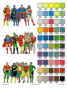 DC Comics Style Guide - art by Jose Luis Garcia Lopez