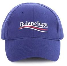 Balenciaga Embroidered cotton baseball cap ab865afe0014