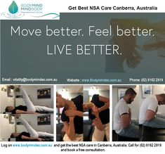 Body Mind Empowerment Centre - Best Chiropractic and Neuroplastic Treatment Services Canberra Remedial Massage, Chiropractic Adjustment, Muscle Tension, Deep Tissue, Sore Muscles, Neck Pain, Nervous System, Feel Better, Mindfulness