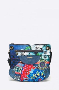 Geanta mica de umar Desigual cu imprimeu colorat Fanny Pack, Sport, Black And White, Casual, Bags, Fashion, Hip Bag, Handbags, Moda