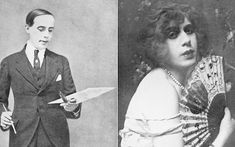 Einar Wegener, the Danish painter; and Lili Elbe, the woman he became