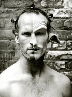 In My Stairwell, Matthew Barney by Mark Seliger -repinned by San Francisco studio photographer http://LinneaLenkus.com  #photographers