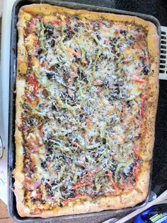 How to Make Homemade Pizza (Crust Made With Whey)