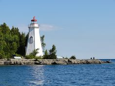 The Big Tub lighthouse was built in 1885 for just $675 and became an important part of guiding ships into the Tobermory Harbour. The surrounding waters, where Georgian Bay and Lake Huron meet, can be notoriously dangerous as evidenced by two shipwrecks that are visible from the lighthouse. The bay now also attracts scuba divers from around the world.