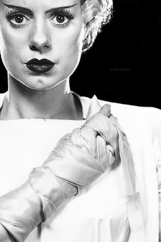 Elsa Lanchester, The Bride Of Frankenstein, From Boutique Horror-Horror Boutique