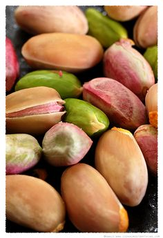 pistaches fraîches