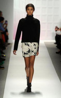 Tibi fall 2012.. I love the bird skirt