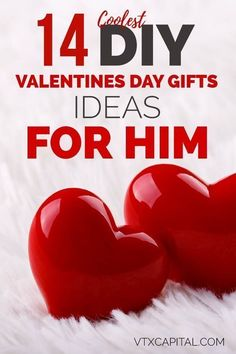 These 14 Valentines Day gifts for him are PERFECT for the DIY girl looking to impress her man. Valentines Day Gifts for Him | Valentines Day Gifts for Him Husband | Valentines Day Gifts for Him Marriage | Valentines Day Gifts for Him Boyfriend | Valentines Day Gifts for Him DIY via @vtxcapital #boyfriendgifts