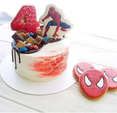 New birthday party cake ballerina ideas New Birthday Cake, Birthday Presents For Mom, Birthday Crafts, Boy Birthday, Birthday Dinner Menu, Birthday Dinners, Birthday Recipes, Festa Pj Masks, Cupcakes For Boys