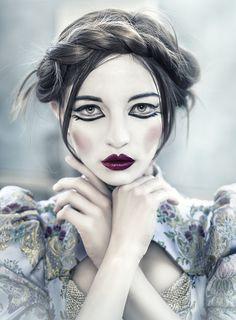 Russian Doll by Rebeca Saray Gude (Assistant David Lopez). Model: Ulyana Valeria, Makeup: Marisa Ceba, Styling: Elena Romanoff