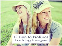 How to Photograph Natural Looking Portraits