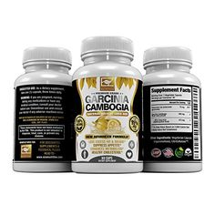 95% HCA Pure Garcinia Cambogia Extract, Highest Potency Of Raw Diet Pills, Extreme Carb Blocker