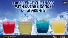 Chill with Gulabs range of #Sharbats