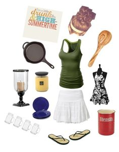 """Cookin'"" by themountaindiva ❤ liked on Polyvore featuring interior, interiors, interior design, home, home decor, interior decorating, Best Mountain, Root Candles, Rachael Ray and J.TOMSON"