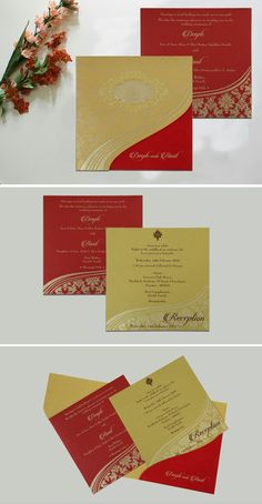 Indian Wedding Cards, Indian Wedding Invitations, Foil Stamped Wedding Invitations, Wedding Invitation Design, Scroll Invitation, Churidar Designs, Budget Wedding, Marriage, Wedding Photography